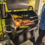 Traeger_Grills_Store_Pro 575_People at grill_006