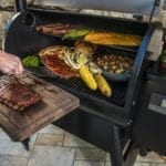 Traeger_Grills_Store_Pro 780_People at grill_010
